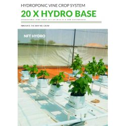 NFT-BASE-20-BUN - NFT Hydro Hydroponic Base 20 Pack Bundle
