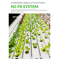 NFT Hydro Hydroponic Grower 2-8 System