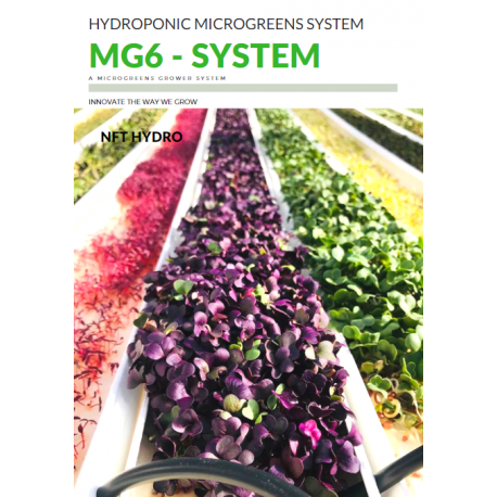 MG-6 Microgreens System (6x 1.8m Growing Channels)