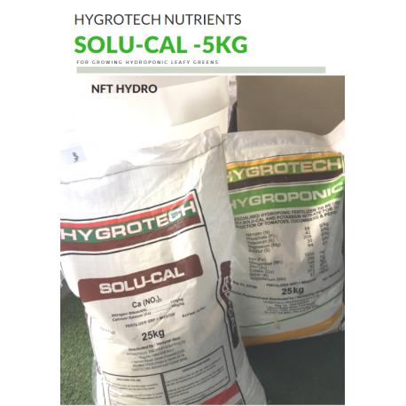 Hygrotech Solu-Cal - Calcium Nitrate (5Kg)