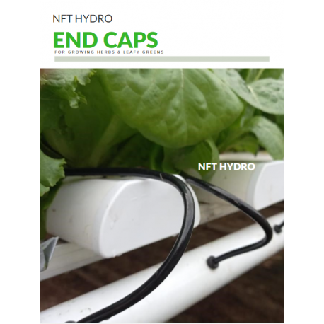 Hygro Profile Endcap (Closed White PVC)